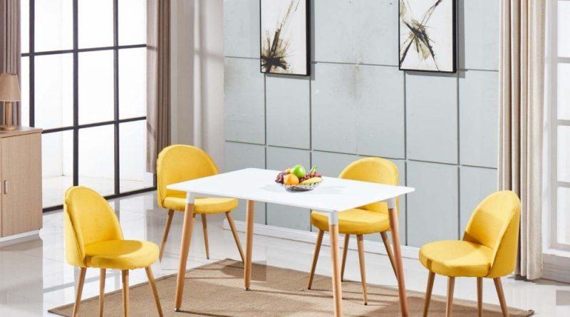 Sélection de chaises de couleur jaune pour votre intérieur