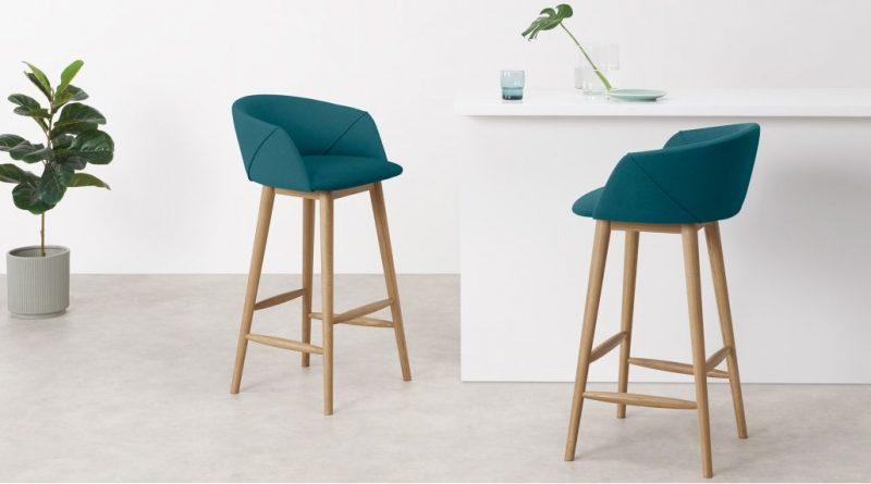 Sélection de chaise de bar de couleur BLEU